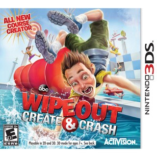 Nintendo 3DS - Wipeout: Create & Crash