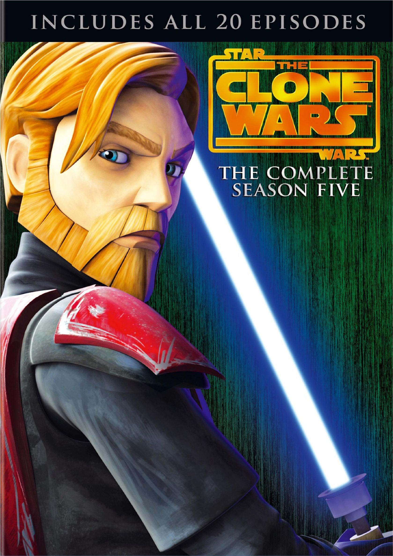 Star Wars: The Clone Wars - Season 5 (DVD)