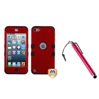 Link to Insten TUFF Hybrid iPod Case Cover/ Stylus for Apple iPod Touch 5th/ 6th Similar Items in MP3 & iPod Accessories
