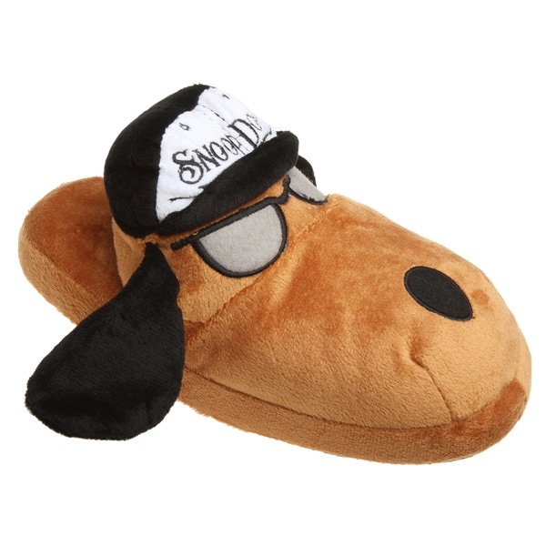 Snoop Dogg Children's Doggie House Slippers