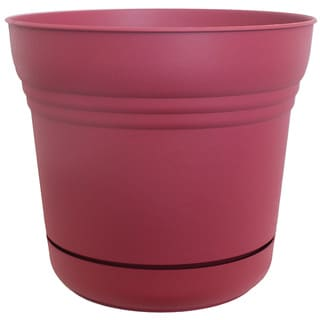 Bloem Saturn Planter Union Red