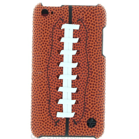 Trexta Sports Series Snap-On Leather Football Case for iPod touch 4G