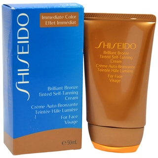 Shiseido Brilliant Bronze Medium Tan Tinted Self-Tanning 1.8-ounce Face Cream