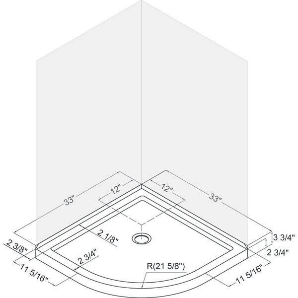shower stall schematic shop dreamline prime 33 in x 33 in x 74 3 4 in h sliding shower  dreamline prime 33 in x 33 in x 74