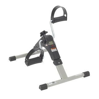 Drive Medical Black Folding Exercise Peddler with Electronic Display