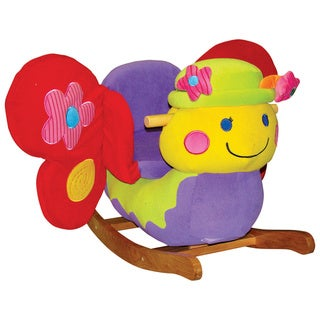 Butterfly Rocker With Sound Free Shipping Today