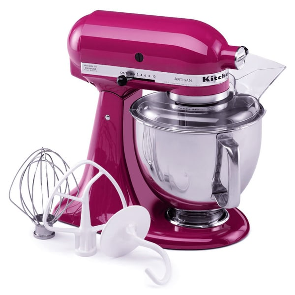 Shop Kitchenaid Rrk150cb Cranberry 5 Quart Artisan Tilt