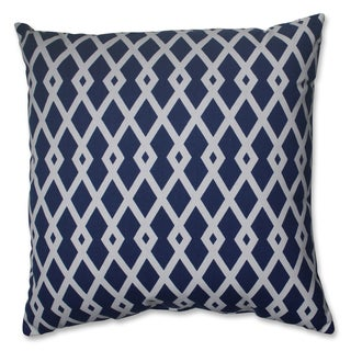 Pillow Perfect Graphic Ultramarine 18-inch Throw Pillow