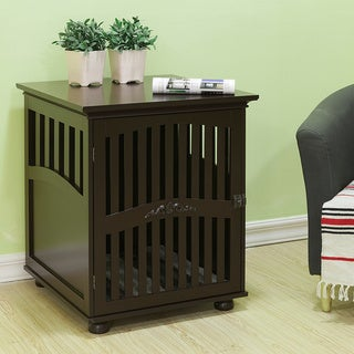 Large Daisy Residence Wooden Furniture Dog Crate