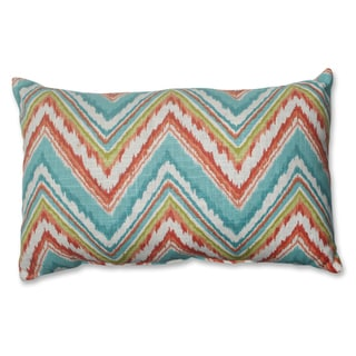 Pillow Perfect Chevron Cherade Rectangular Throw Pillow