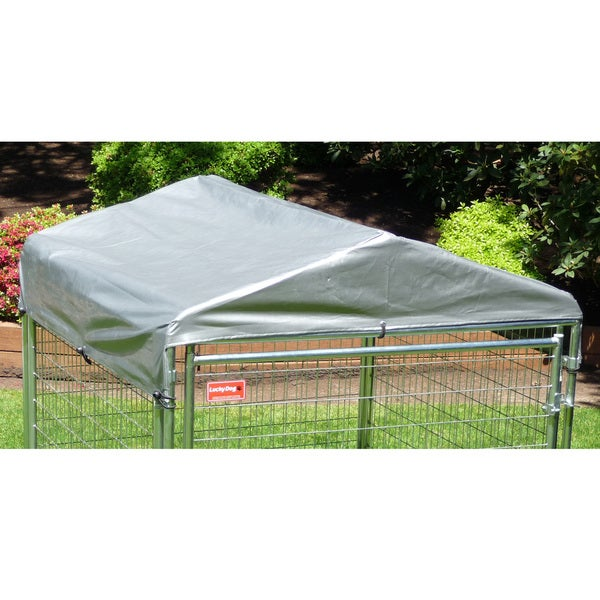 Lucky Dog Kennel Cover 5 feet W x 5 feet L (Cover Only)