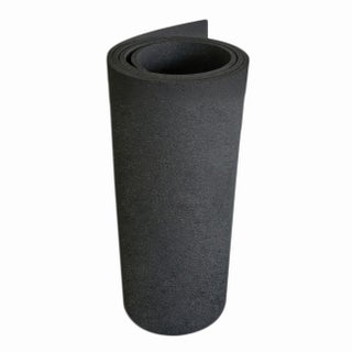"Rubber-Cal Treadmill Mat - 3/16"" thick x 4ft wide - 6.5 or 7.5ft length Mats for Treadmill Machines (2 options available)"