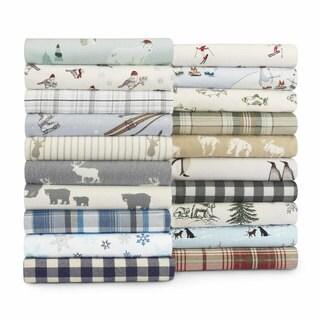 Eddie Bauer Cotton Flannel Sheet Set