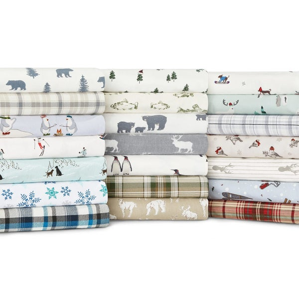 Eddie Bauer Cotton Flannel Sheet Sets
