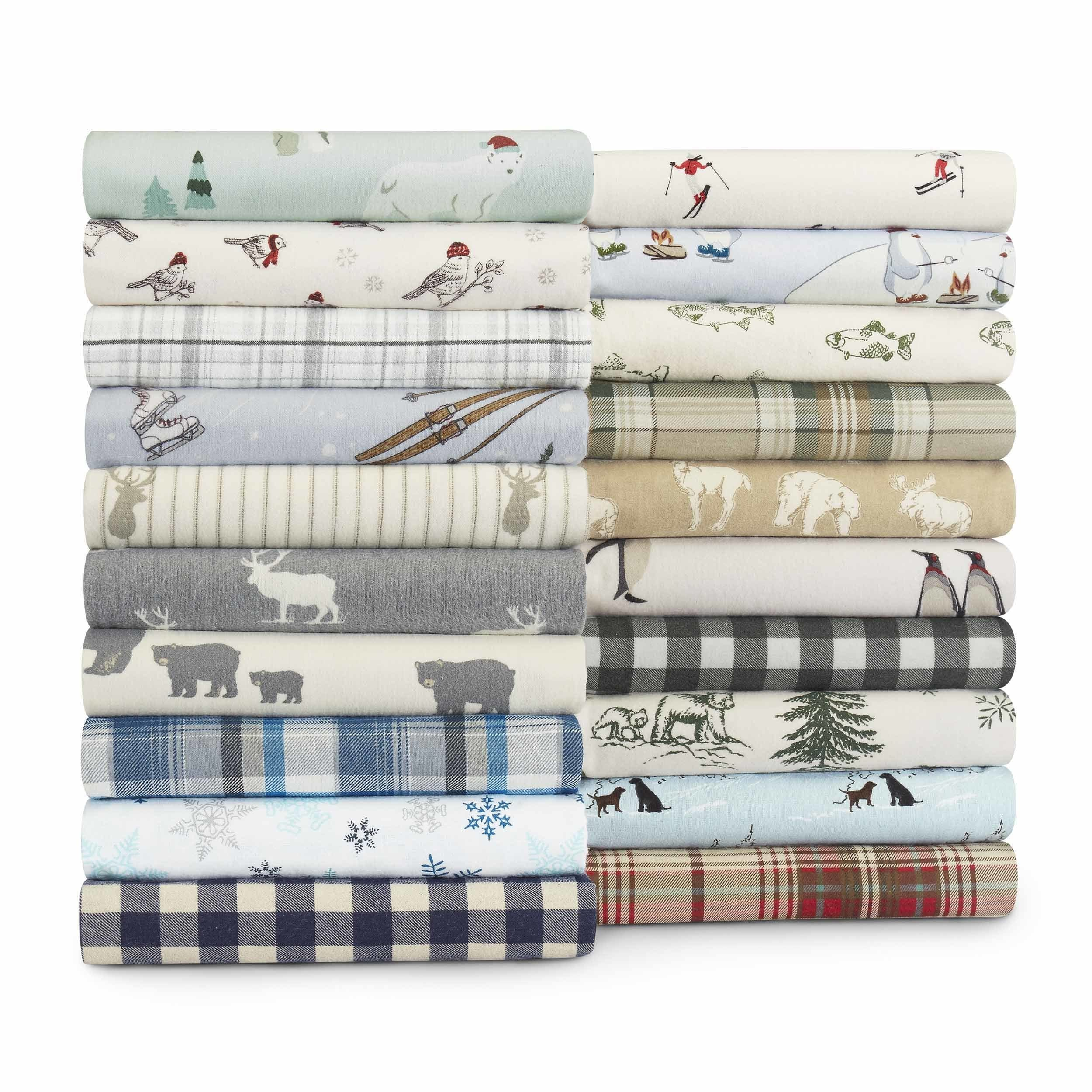 Eddie Bauer Cotton Flannel Sheet Set (As Is Item) (King -...