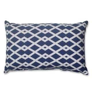 Pillow Perfect Graphic Ultramarine Rectangular Throw Pillow