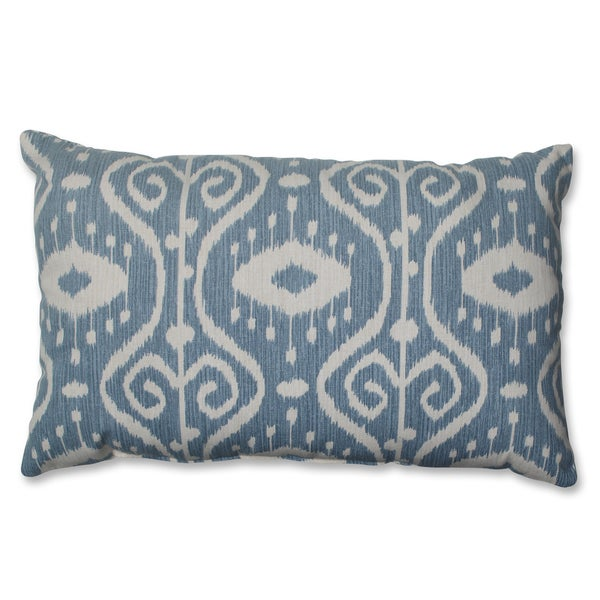 Pillow Perfect Ikat Empire Yacht Rectangular Throw Pillow