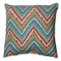 Pillow Perfect Chevron Cherade 16.5-inch Throw Pillow