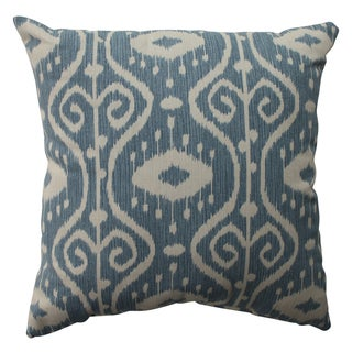 Pillow Perfect Ikat Empire Yacht 16.5-inch Throw Pillow