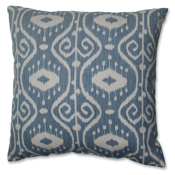 Decorative Pillows For Yachts : Pillow Perfect Ikat Empire Yacht 18-inch Throw Pillow - Free Shipping On Orders Over $45 ...
