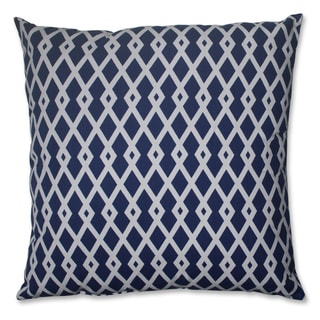 Pillow Perfect Graphic Ultramarine 24.5-inch Decorative Pillow