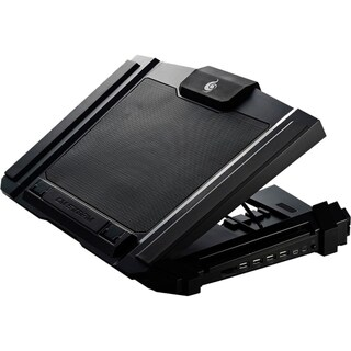 CM Storm SF 17 - Gaming Laptop Cooling Pad with 180mm Fan and 4 Ergon