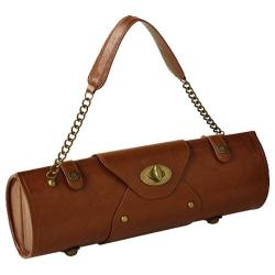 Women's Picnic at Ascot Wine Carrier/Purse Brown