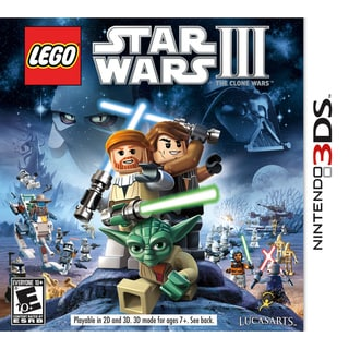 Nintendo 3DS - Lego Star Wars III Clone Wars