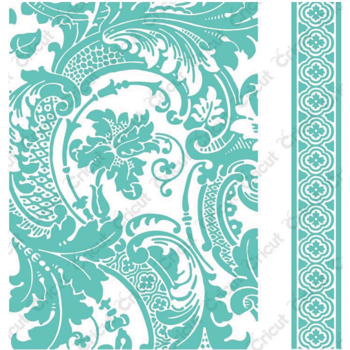 Hearts+ Anna Griffin Cuttlebug Spring Letterpress 6pc Folder Set Dainty Heels