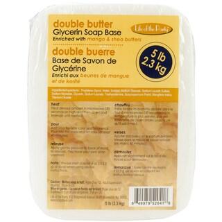 Glycerin Soap Base 5 Pounds-Double Butter