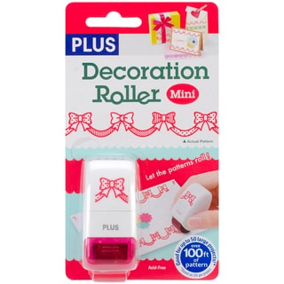 Decoration Roller Mini 33 Yards/Pkg-Red Ribbons