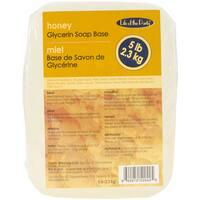 Glycerin Soap Base 5 Pounds-Honey