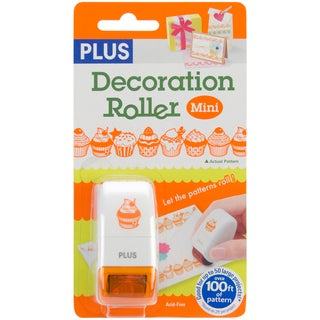 Decoration Roller Mini 33 Yards/Pkg-Orange Cupcakes