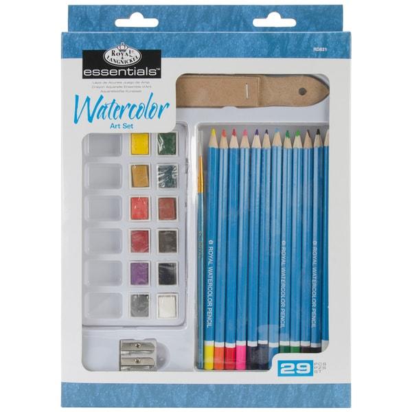Royal Brush Essentials Art Set-Watercolor Pencil