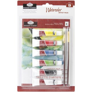 Royal Brush Essentials Artist Pack-Watercolor Painting
