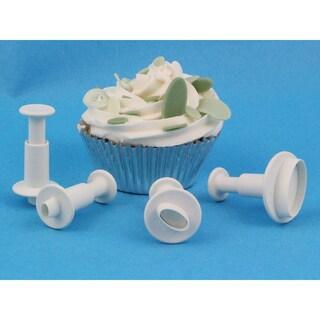 Plunger Cutter Set 4 Pieces-Miniature Oval