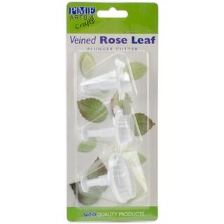 Plunger Cutter Set 3 Pieces-Veined Rose Leaf