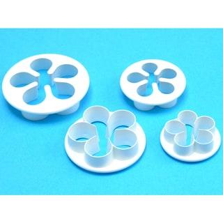 Petal Cutter Set 4 Pieces-Five Petal
