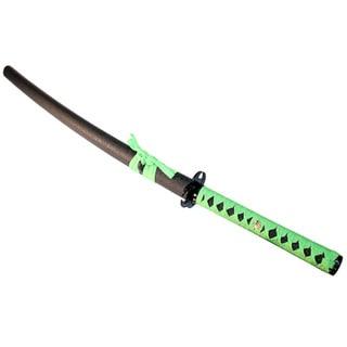 40.5-inch Green/Black Zombie Samurai Katana Sword