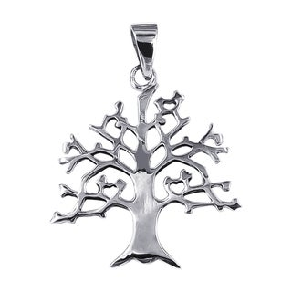 Winter Branches Tree of Life .925 Sterling Silver Pendant (Thailand)