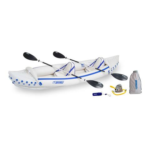 Sea Eagle 370 Inflatable Kayak with Pro Package