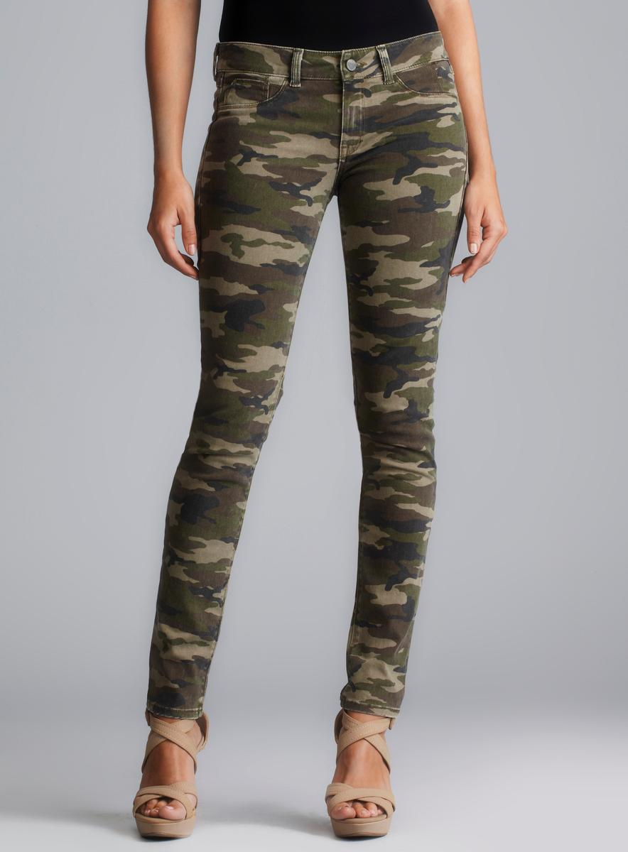Gap Always Skinny Womens Jeans Jeans are camouflage and feature 3 zipper pockets on the front and two regular pockets on the back, Jeans have some stretch to them. Size 24 Waist 13 in Front rise 7 in Rewash Take Care of Me Camouflage Skinny Jeans Stretch Size 5. $ Buy It Now.