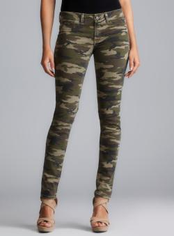 Fragile Super Skinny Camouflage Jeans - Free Shipping Today ...