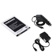 INSTEN Samsung Battery/ Car Charger/ Travel Charger for Samsung Galaxy S3