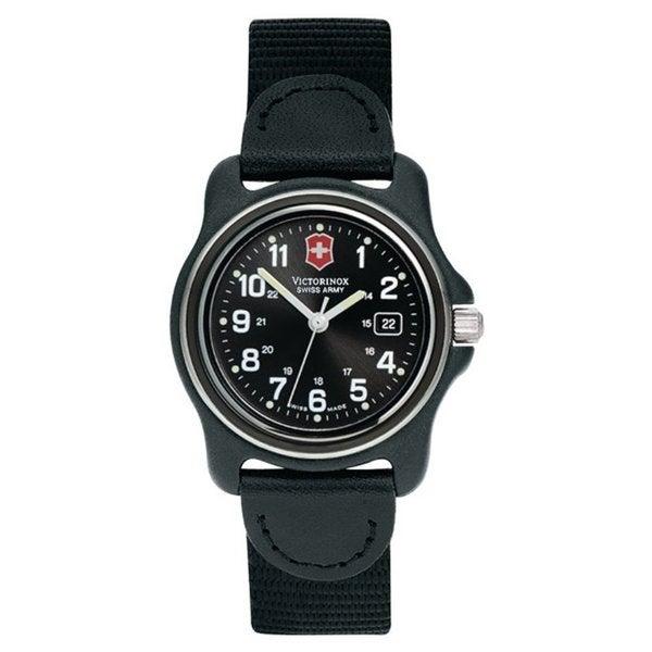 Victorinox Swiss Army Women's Original Black Dial Black ...