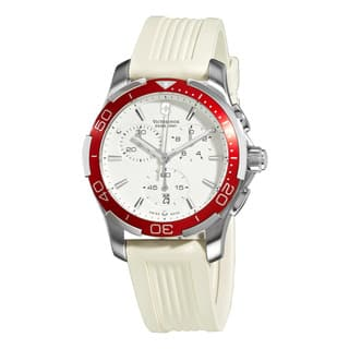 Swiss Army Women's Alliance Sport Chrono White Dial Red Bezel Watch|https://ak1.ostkcdn.com/images/products/8249802/8249802/Swiss-Army-Womens-Alliance-Sport-Chrono-White-Dial-Red-Bezel-Watch-P15576223.jpg?impolicy=medium