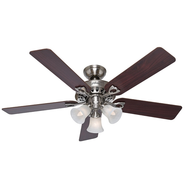 Hunter Fan Sontera 52 Inch Brushed Nickel Remote Ceiling
