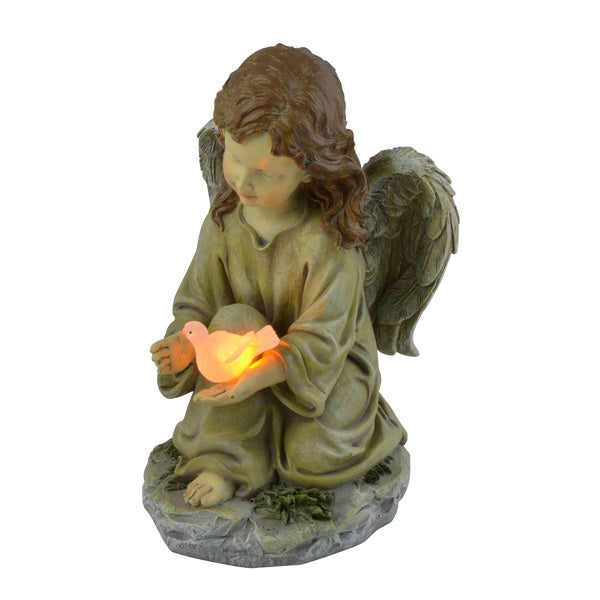 Shop Moonrays Angel With Dove Outdoor Lighting Accent