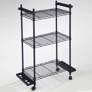 Organized Fishing 12 Capacity Tackle Trolley