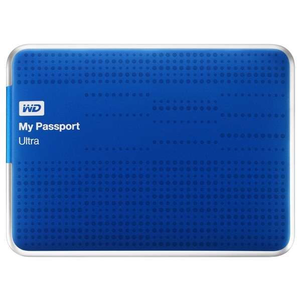 WD My Passport Ultra WDBMWV0020BBL-NESN 2 TB External Hard Drive